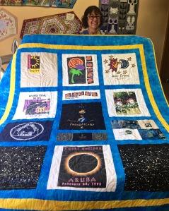 Eclipse quilt front